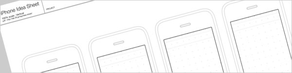 iPhone Idea Sheet(PDF)