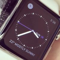 Apple Watch face