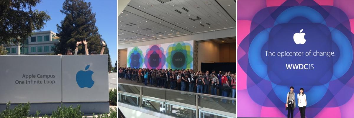 WWDC 2015旅の写真